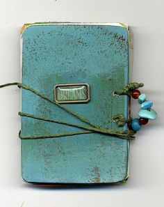 Blue journal, by Constanza.
