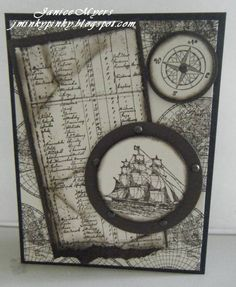 Masculine card by empressofthedesert - Cards and Paper Crafts at Splitcoaststampers