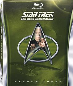 RESISTANCE IS FUTILE! Star Trek: The Next Generation - Blu-rays Announced for 'Season 3' and 'The Best of Both Worlds'
