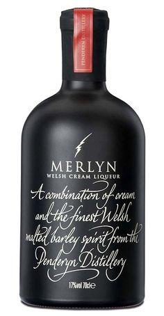 Merlyn welsh cream whisky liqueur.