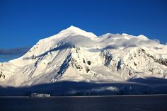 Antarctica Mountains