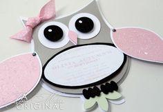 Owl Birthday Invitation
