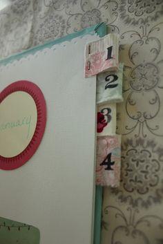 Handmade day planner!