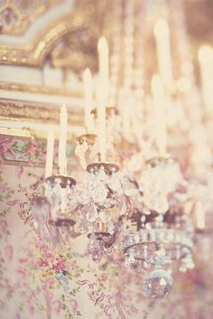 #french chandeliers...