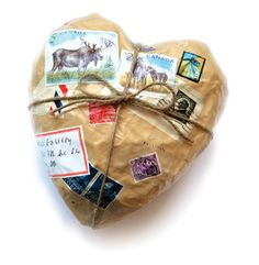 Mail art or Mail heart.