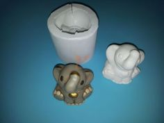 Stampo elefantino bomboniera thun