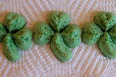 Shamrock Spritz Cookies :)