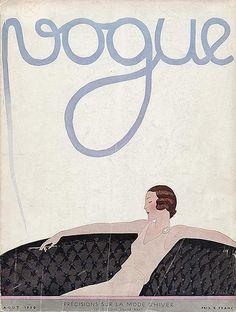 Vogue 1930 #vogue #cover #artdeco