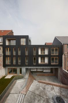 Residential Complex Le Lorrain, MDW Architecture. urban context