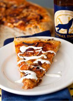 Buffalo chicken pizza!