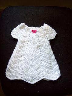 beautiful preemie gown ~ free crochet pattern