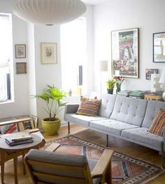 Cute apartment living room