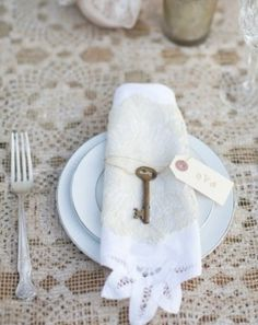 Table decorations? Keys are good for more than just unlocking doors.