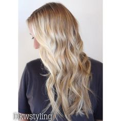 Blonde, for appointments in Laguna beach CA  go to dkwstyling.com
