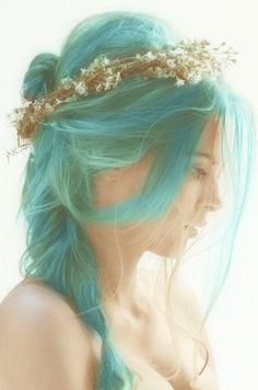 beautiful mermaid hair
