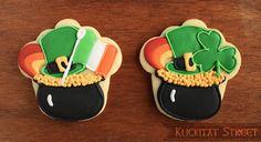 St. Patty's day cupcake cutter from Klickitatstreet.com