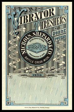 Vibrator Threshers poster