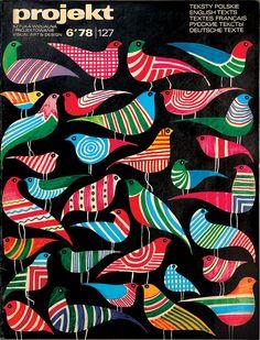 magazine cover by Hubert Hilscher (1978)