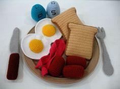Crochet Western Breakfast by skymagenta, via Flickr