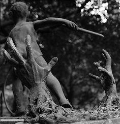 Staglieno_Boschetto  Staglieno Cemetery - Genova, Italy.  What a creepy gravestone!