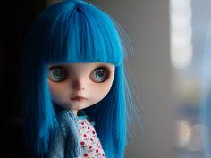 blythe blue, blue hair