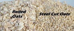 Difference Between Rolled Oats And Old Fashioned Oats