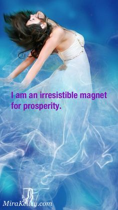 Affirmation~  I am an irresistible magnet for prosperity.  Please Share ‪#‎affirmation‬ ‪#‎prosperity‬ ‪#‎magnet‬