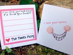 Tooth Fairy Love Notes