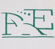 Modern Monogram....