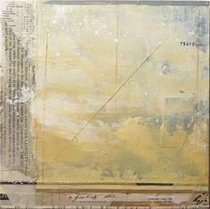 """Kathryn Frund...Emergence No 754290.1 - 2011 - mixed media - 8 x 8"""""""