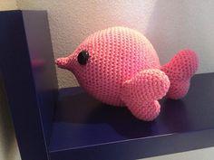 Ravelry: Pink heart Fish pattern by Teresa Alvarez