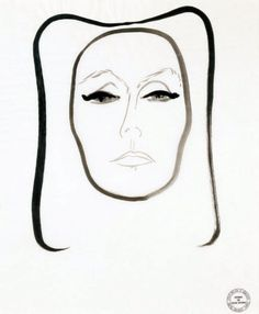 Art - Drawing - René Gruau {February 4, 1909 - March 31, 2004}