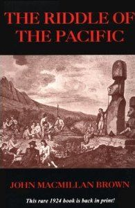 First published in London in 1924, this rare classic has been one of the most difficult books on Pacific archaeology to find. Out-of-print for over 70 years, this highly illustrated volume is a scholarly study of such far-out topics as a lost continent in the Pacific, ancient writing in the Pacific, the stonework of Easter Islands, megalithic roads on Rarotonga and remote Malden Island, connections between New Zealand and Easter Island, ancient tattoo customs, and much more.