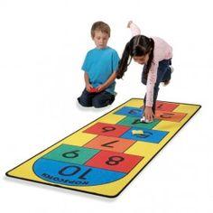 Portable Hopscotch Play Carpet  forsmallhands.com