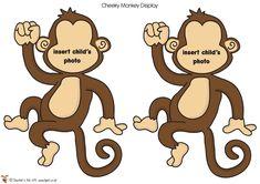 Teacher's Pet - Large Printable Photo Monkeys - FREE Classroom Display Resource - EYFS, KS1, KS2, Monkeys, jungle, African, animals, zoo, safari, birthday, display, fruits teachers pet, free jungle printables, larg printabl, monkey safari birthday, printabl photo, jungle printables free, monkey classroom ideas, teacher pet, early years jungle