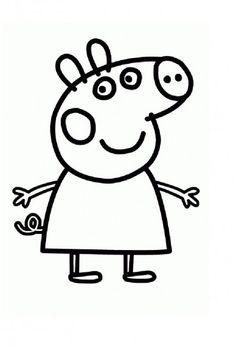 Peppa pig da colorare