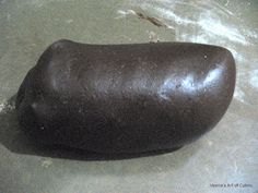 Veena's Art of Cakes: Rolled Chocolate Fondant./ Sugar Paste