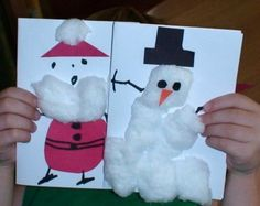Manualidades navideñas con los niños