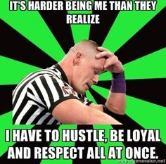 We feel your pain, John Cena. #WWE