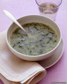 Martha Stewart, Quick Zucchini-Mint Soup
