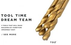 Tool Time Dream Team: 10 Tools That Will Make Building DIY Furniture Amazingly Easy | The Design Confidential