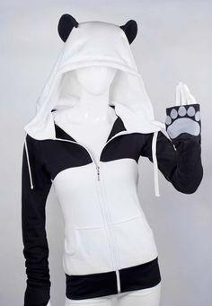 Awesome panda hoodie