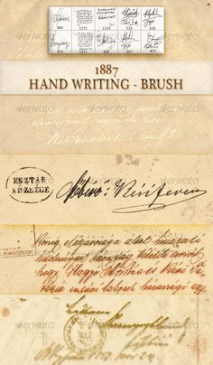 Old hand writing brush by ~boeenet on deviantART