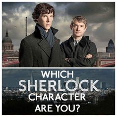 "Which ""Sherlock"" Character Are You? I got Molly, who did you get?"