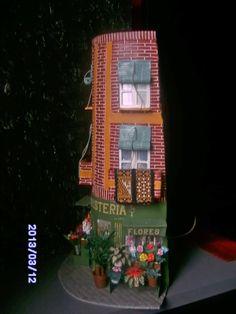 roof tile, teja decorada, kulübeminyatür evler, em telha