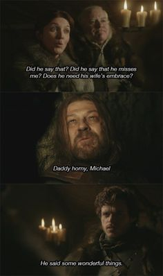 Game of Thrones meets Arrested Development no.1