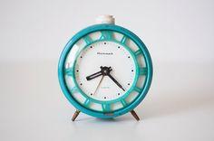 Vintage soviet mechanical alarm clock Jantar  by CuteOldThings, $39.00