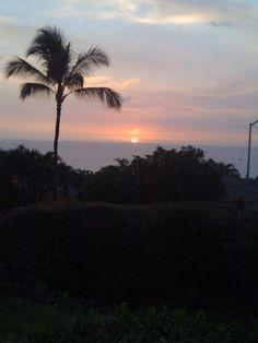 Kona, Hawaii sunset