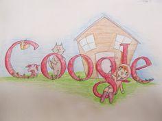 Google  /  High school Art project drawing