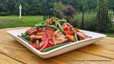 summer tomato, kitchenista diari, green bean, bean salads
